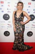 LUCIE SHORTHOUSE at Whatsonstage Awards in London 02/25/2018