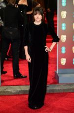LUCY COHEN at BAFTA Film Awards 2018 in London 02/18/2018