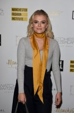 LUCY FALLON at Manchester Fashion Festival at Manchester Hall 02/23/2018