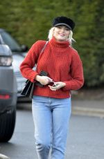 LUCY FALLON Out and About in Leeds 02/01/2018