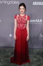 LUCY HALE at Amfar Gala 2018 in New York 02/07/2018