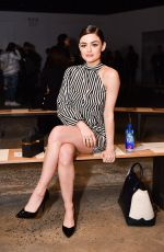 LUCY HALE at Fiji Water at Self Portrait Show at New York Fashion Week 02/10/2018
