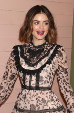 LUCY HALE at Kate Spade Presentation at NYFW in New York 02/09/2018