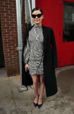 LUCY HALE at New York Fashion Week 02/10/2018