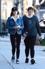 LUCY HALE Heading to a Gym in Studio City 02/18/2018