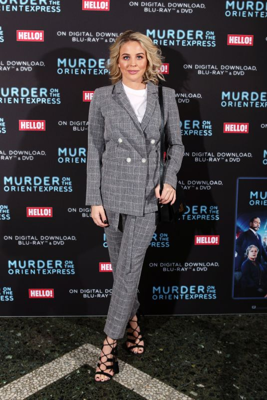 LYDIA BRIGHT at Screening of Murder on the Orient Express to Celebrate Blu-Ray and DVD Release in London 02/26/2018