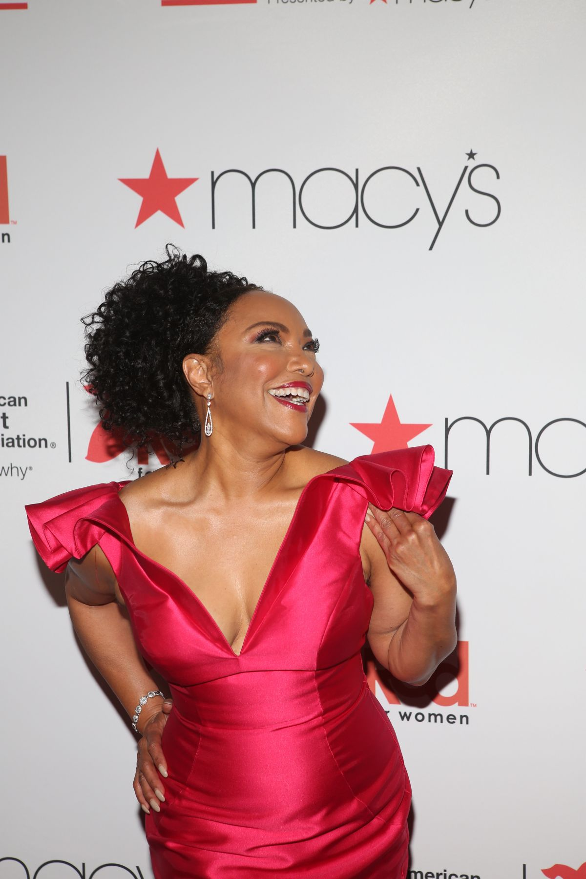 7a529ec865e LYNN WHITFIELD at Go Red for Women Red Dress Collection 2018 Presented by  Macy s in New