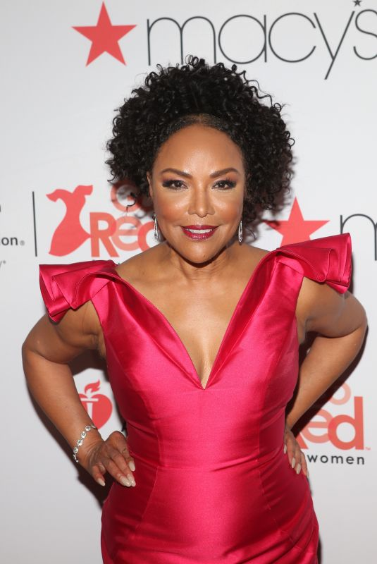 LYNN WHITFIELD at Go Red for Women Red Dress Collection 2018 Presented by Macy's in New York 02/08/2018