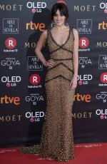 MACARENA GARCIA at 32nd Goya Awards in Madrid 02/03/2018