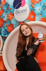 MADELAINE PETSCH at Biore Skincare Launch New Baking Soda Acne Cleansing Foam in New York 02/12/2018
