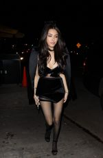 MADISON BEER Arrives at Her Listening Party at Peppermint Club in West Hollywood 02/02/2018