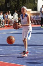 MADISON BEER at Chacha x Foxx Charity Celebrity Basketball in Thousand Oaks 02/17/2018