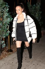 MADISON BEER at Delilah in West Hollywood 02/17/2018