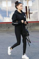 MADISON BEER Out and About in Los Angeles 02/17/2018