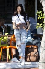 MADISON BEER Out for Lunch at Fred Segal in West Hollywood 02/15/2018