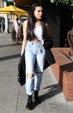 MADISON BEER Out for Lunch in Beverly Hills 02/01/2018