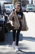 MADISON BEER Out Shopping in Los Angeles 02/22/2018