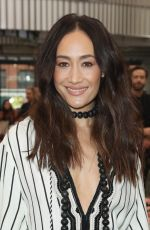 MAGGIE Q at Tory Burch Show at New York Fashion Week 02/09/2018