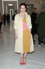 MAIMIE MCCOY at Jasper Conran Show at London Fashion Week 02/17/2018