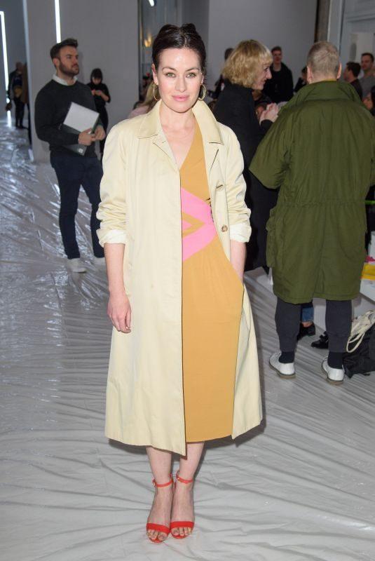 MAIMIE MCCOY at Jasper Conran Show at London Fashion Week 02/17/2018