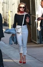 MAISIE WILLIAMS Arrives at Jimmy Kimmel Live!