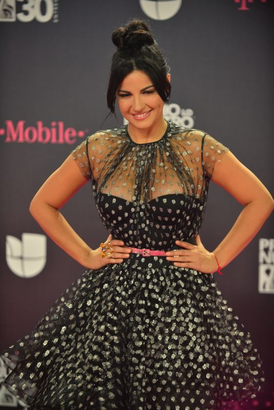 MAITE PERRONI at Premio Lo Nuestro Awards 2018 in Miami 02/22/2018