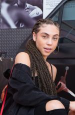MAKAYLA LONDON at Revolve x Nike 1s Reimagined Pop-up Event in Los Angeles 02/16/2018