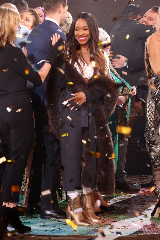 MALIKA HAQQ at Celebrity Big Brother Final in Borehamwood 02/02/2018