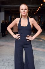 MALIN AKERMAN at Cushnie et Ochs Show at New York Fashion Week 02/09/2018
