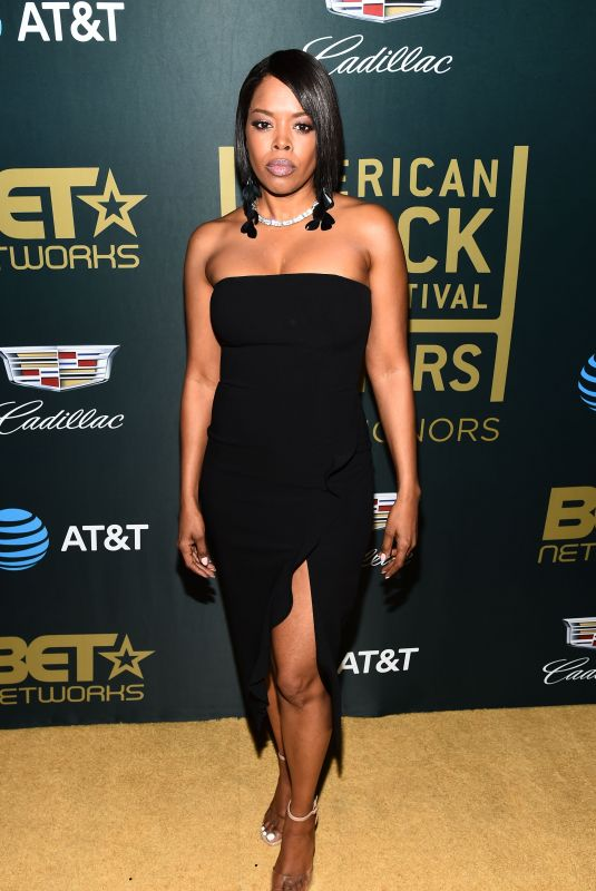 MALINDA WILLIAMS at American Black Film Festival in Los Angeles 02/25/2018