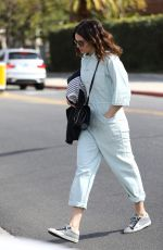 MANDY MOORE Shows Off New Haircut Out in Los Angeles 02/12/2018