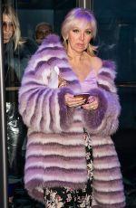 MARGARET JOSEPHS Leaves Carmen Marc Valvo Fashion Show in New York 02/11/2018