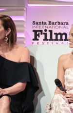 MARGOT ROBBIE and ALLISON JANNEY at Outstanding Pperformers of the Year Award Show at  33rd Santa Barbara International Film Festival 02/08/2018