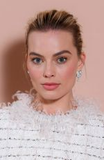 MARGOT ROBBIE at Bafta Nominees Party in London 02/17/2018