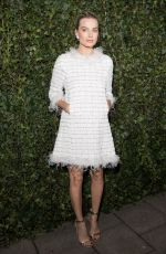 MARGOT ROBBIE at Charles Finch & Chanel Pre-bafta Party in London 02/17/2018