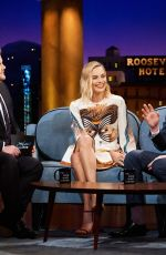 MARGOT ROBBIE at Late Late Show with James Corden in Los Angeles 02/05/2018