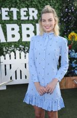 MARGOT ROBBIE at Peter Rabbit Photocall in West Hollywood 02/02/2018