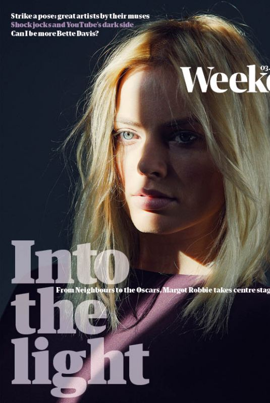 MARGOT ROBBIE in Guardian Weekend Magazine, February 2018