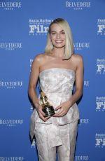 MARGOT ROBBIE Receives Outstanding Performers of the Year Award at Santa Barbara International Film Festival 02/08/2018