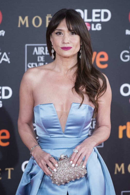 MARIA BOTTO at 32nd Goya Awards in Madrid 02/03/2018