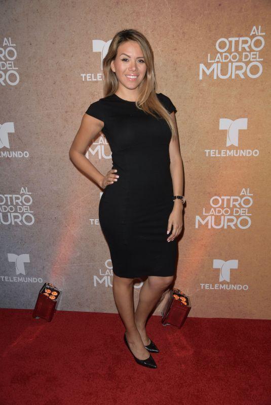MARIA ESCANDON at Al Otro Lado Del Muro Screening in Miami 02/20/2018