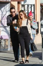 MARIA MENOUNOS at a Liquor Store in Hollywood 02/09/2018