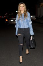 MARIA MENOUNOS Leaves Veronica Beard Boutique in West Hollywood 02/21/2018