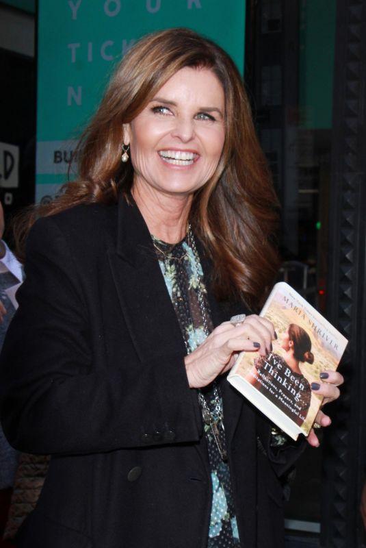MARIA SHRIVER Promotes Her New Book I
