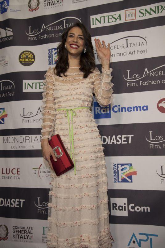 MARIANNA DI MARTINO at Los Angeles Italia Film, Fashion and Art Festival 02/25/2018