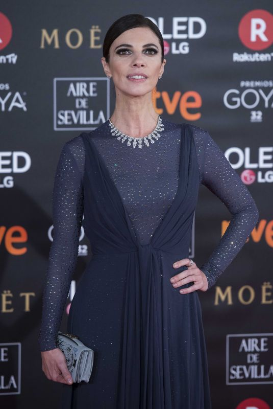 MARIBEL VERDU at 32nd Goya Awards in Madrid 02/03/2018