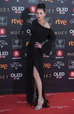 MARIOLA FUENTES at 32nd Goya Awards in Madrid 02/03/2018