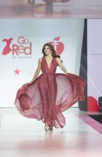 MARISA TOMEI in Gown by Galia Lahav at Red Dress 2018 Collection Fashion Show in New York 02/08/2018