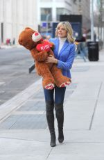 MARLA MAPLES Out and About in New York 02/13/2018