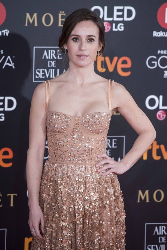 MARTA ETURA at 32nd Goya Awards in Madrid 02/03/2018